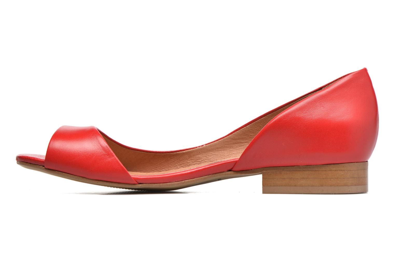 Ballet pumps Georgia Rose Emoto Red front view