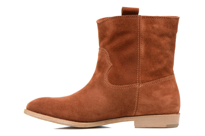 Bottines et boots Tamaris Selina Marron vue face