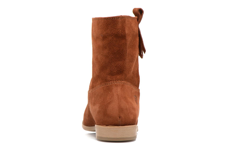 Bottines et boots Tamaris Selina Marron vue droite