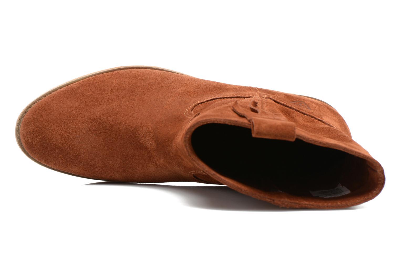 Bottines et boots Tamaris Selina Marron vue gauche