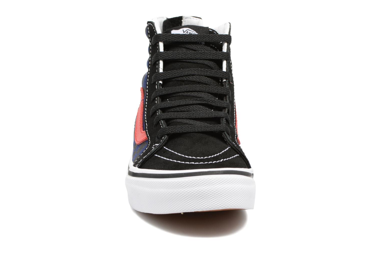 Baskets Vans SK8-Hi Zip K Noir vue portées chaussures