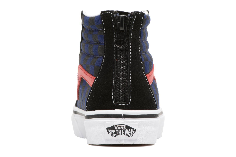 Baskets Vans SK8-Hi Zip K Noir vue droite