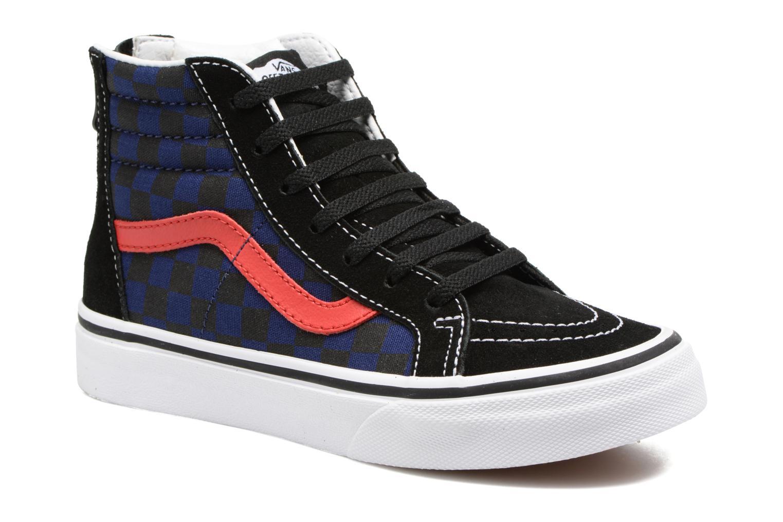 Baskets Vans SK8-Hi Zip K Noir vue détail/paire
