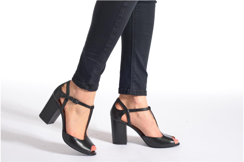 Sandales et nu-pieds What For Jimmy Noir vue bas / vue portée sac