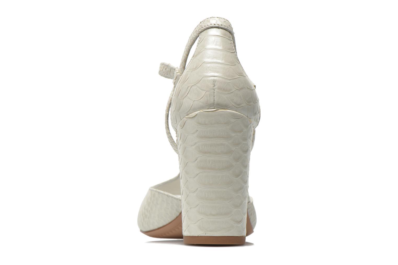 Sandales et nu-pieds What For Jimmy Blanc vue droite