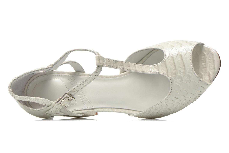 Sandales et nu-pieds What For Jimmy Blanc vue gauche