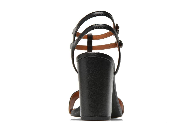 Sandales et nu-pieds What For Joly Noir vue droite