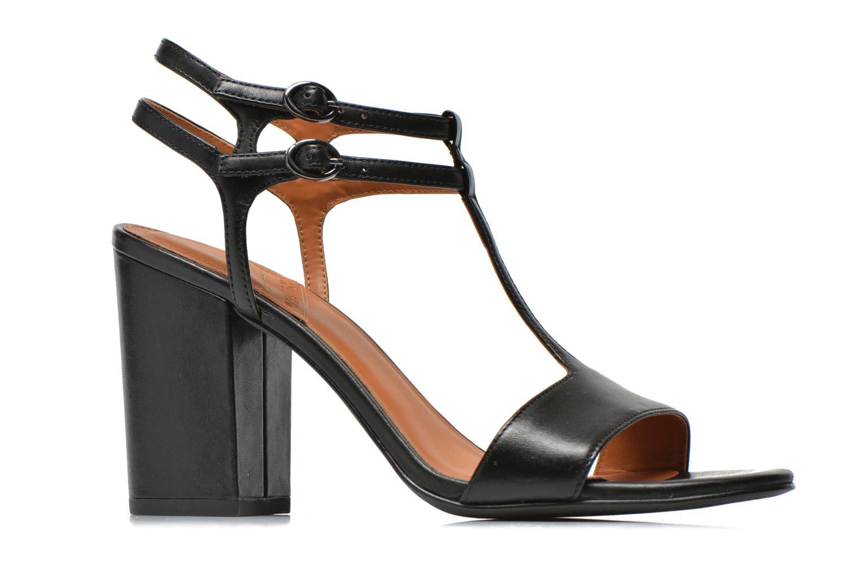 Sandales et nu-pieds What For Joly Noir vue derrière
