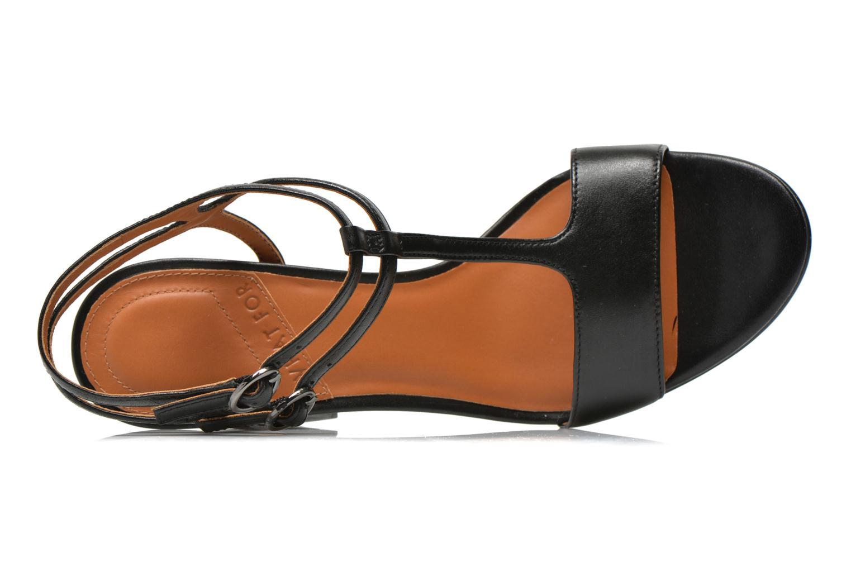 Sandales et nu-pieds What For Joly Noir vue gauche
