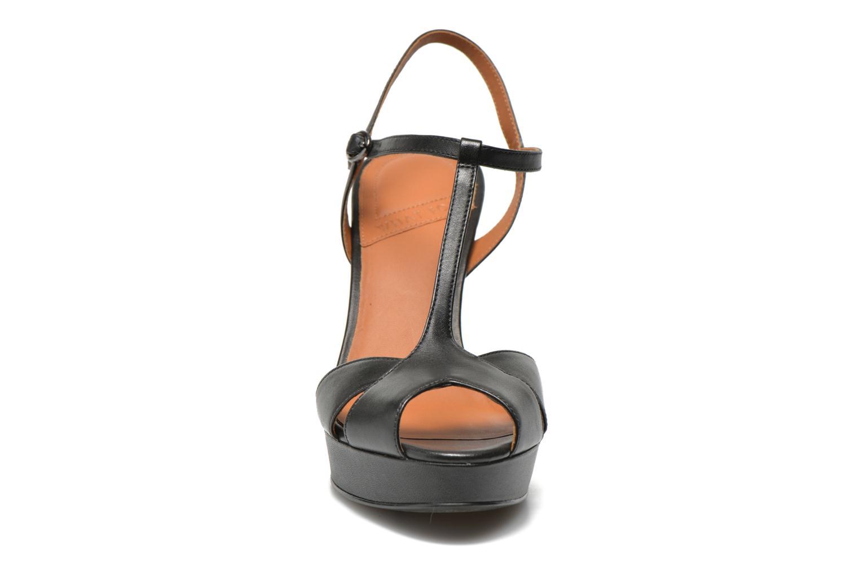 Sandales et nu-pieds What For Damya Noir vue portées chaussures