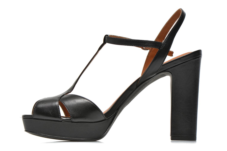Sandales et nu-pieds What For Damya Noir vue face