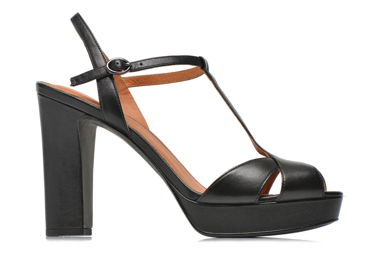 Sandales et nu-pieds What For Damya Noir vue derrière