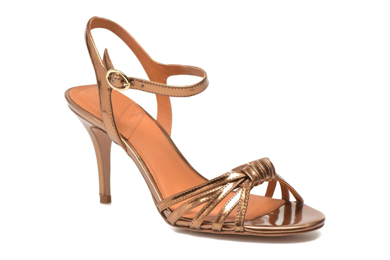 Sandalias What For Salsa Oro y bronce vista de detalle / par