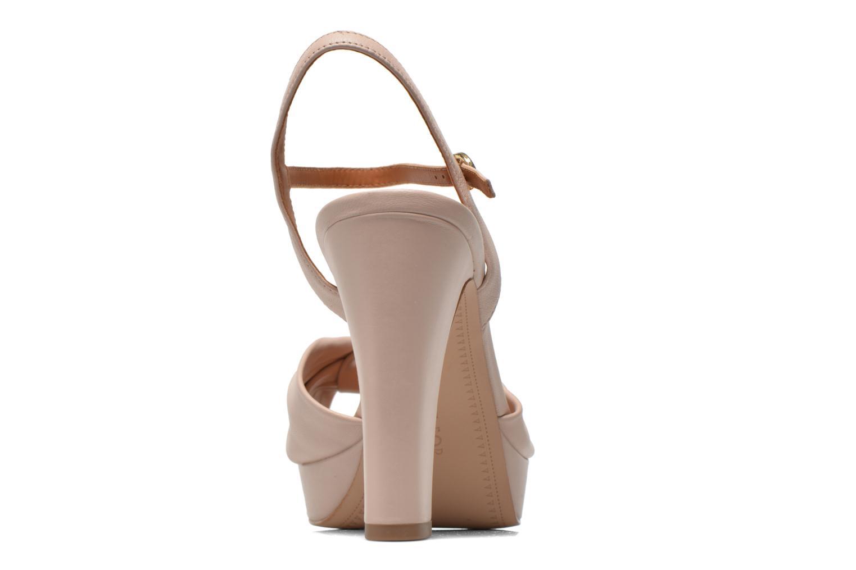 Sandales et nu-pieds What For Wane Rose vue droite