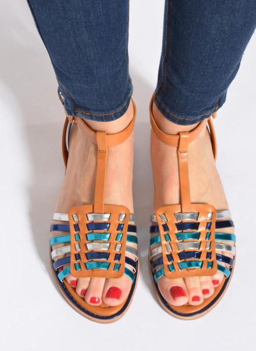 Sandali e scarpe aperte What For Pralie Multicolore immagine dal basso