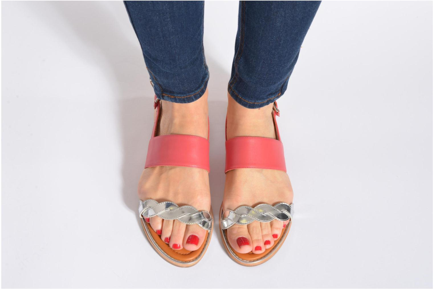 Sandals What For Kimie Multicolor view from underneath / model view