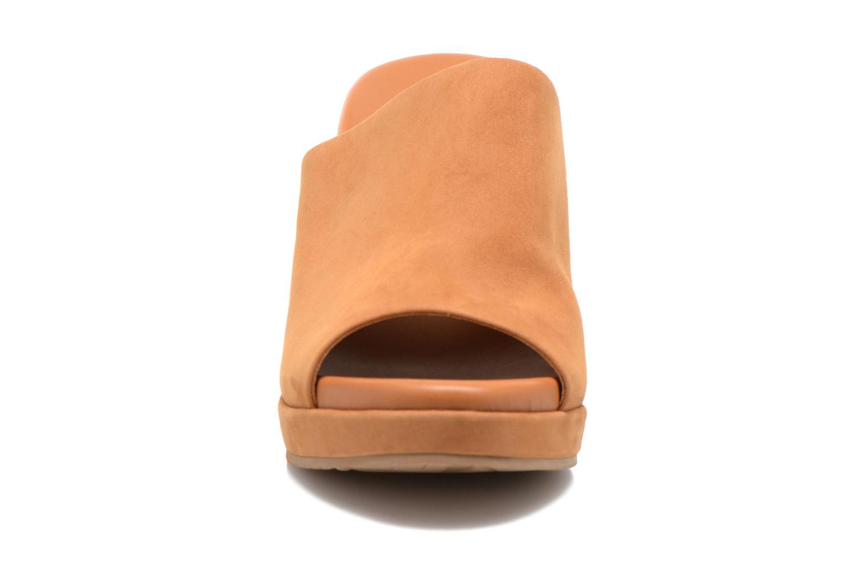 Mules et sabots What For Sima Marron vue portées chaussures