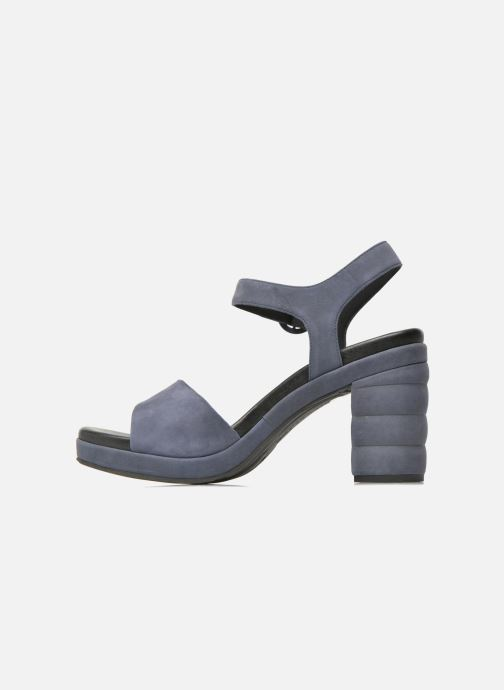 Sandalen What For Kanye blau ansicht von vorne
