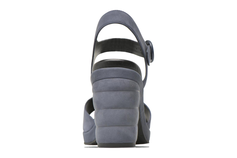 Sandales et nu-pieds What For Kanye Bleu vue droite