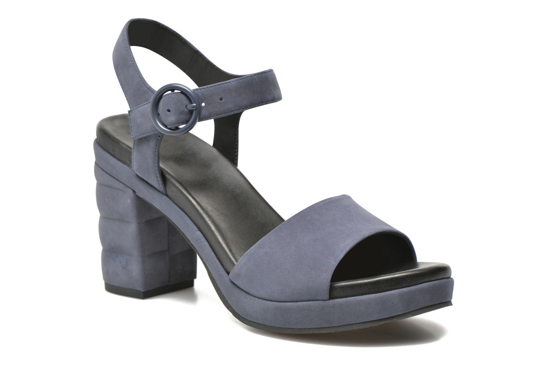 Sandales et nu-pieds What For Kanye Bleu vue détail/paire