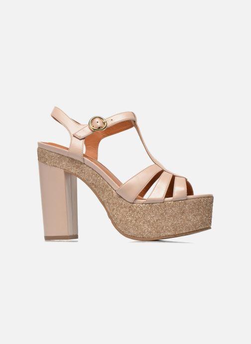 Sandales et nu-pieds What For Cabia Beige vue derrière