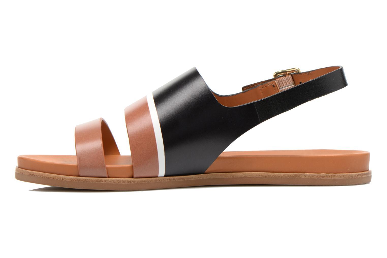 Sandalen What For Charm Zwart voorkant