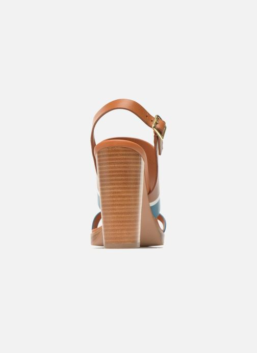 Cognac bleu Nu pieds What Et Miller Sandales For kPXOuTZi