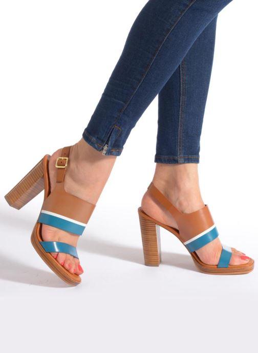 Sandalen What For Miller mehrfarbig ansicht von unten / tasche getragen
