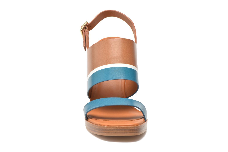 Sandales et nu-pieds What For Miller Bleu vue portées chaussures