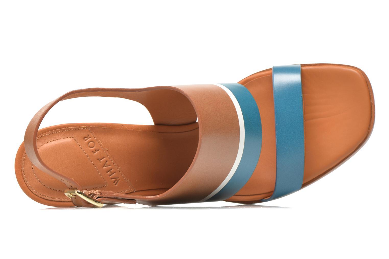 Sandales et nu-pieds What For Miller Bleu vue gauche