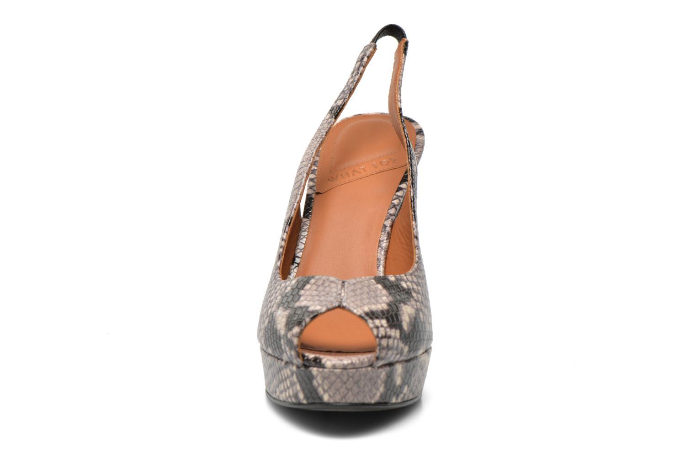 Sandales et nu-pieds What For Taveda Multicolore vue portées chaussures