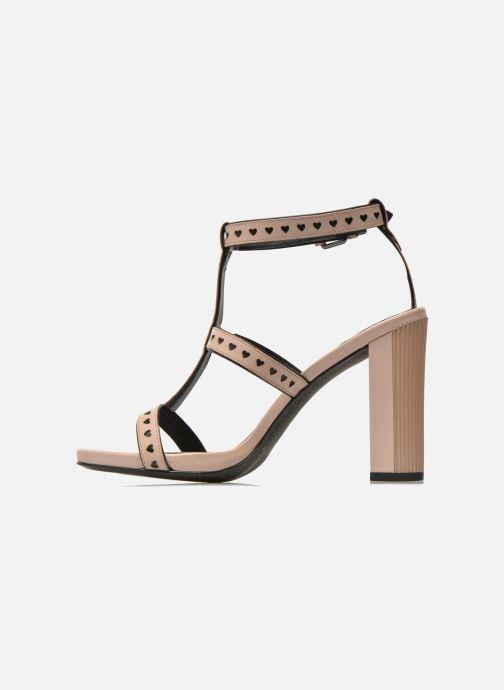 Sandalen What For Princess rosa ansicht von vorne