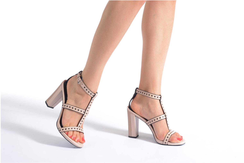 Sandales et nu-pieds What For Princess Rose vue bas / vue portée sac