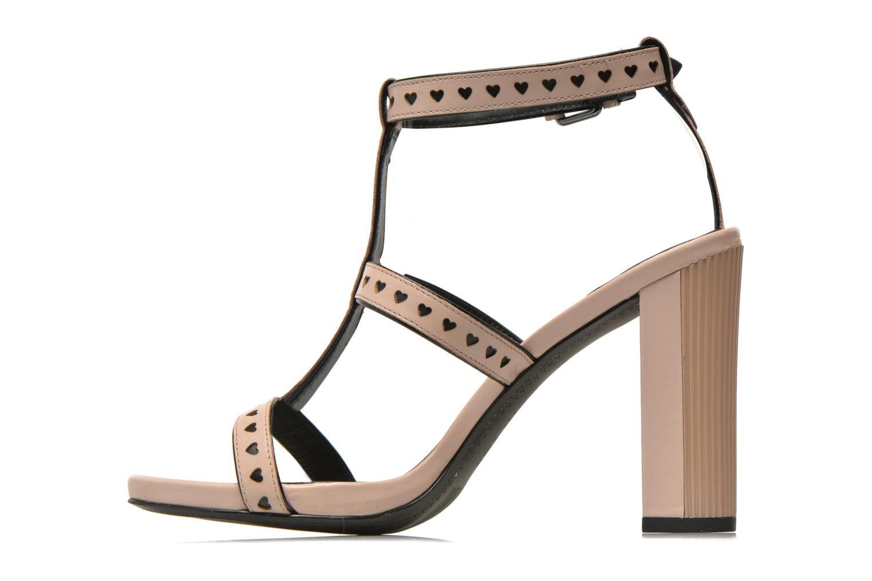 Sandales et nu-pieds What For Princess Rose vue face