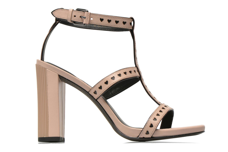 Sandales et nu-pieds What For Princess Rose vue derrière