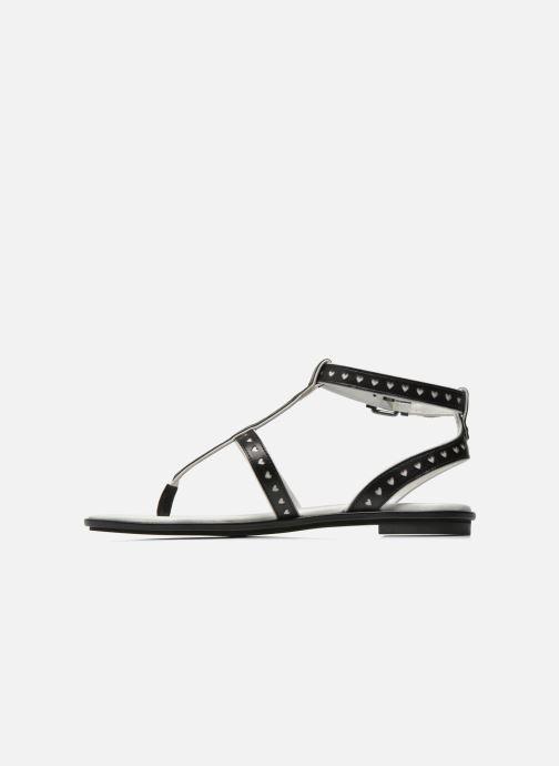Sandales et nu-pieds What For Tale Noir vue face