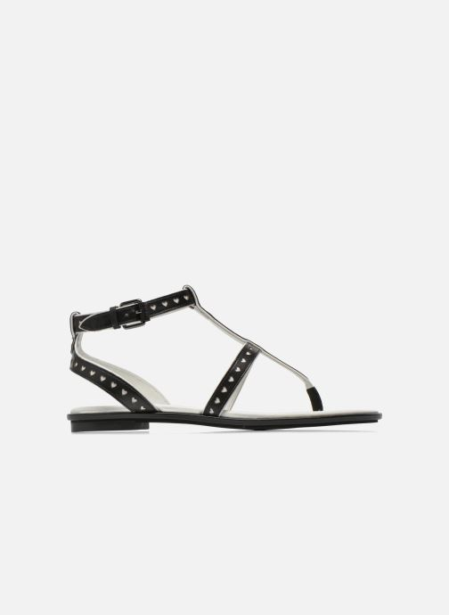 Sandalias What For Tale Negro vistra trasera