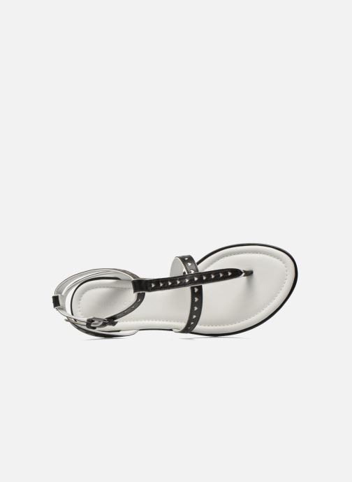 Sandales et nu-pieds What For Tale Noir vue gauche