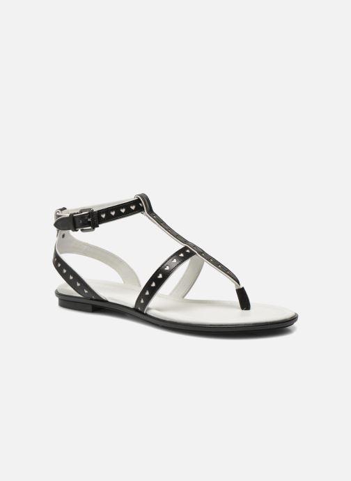 Sandaler What For Tale Sort detaljeret billede af skoene