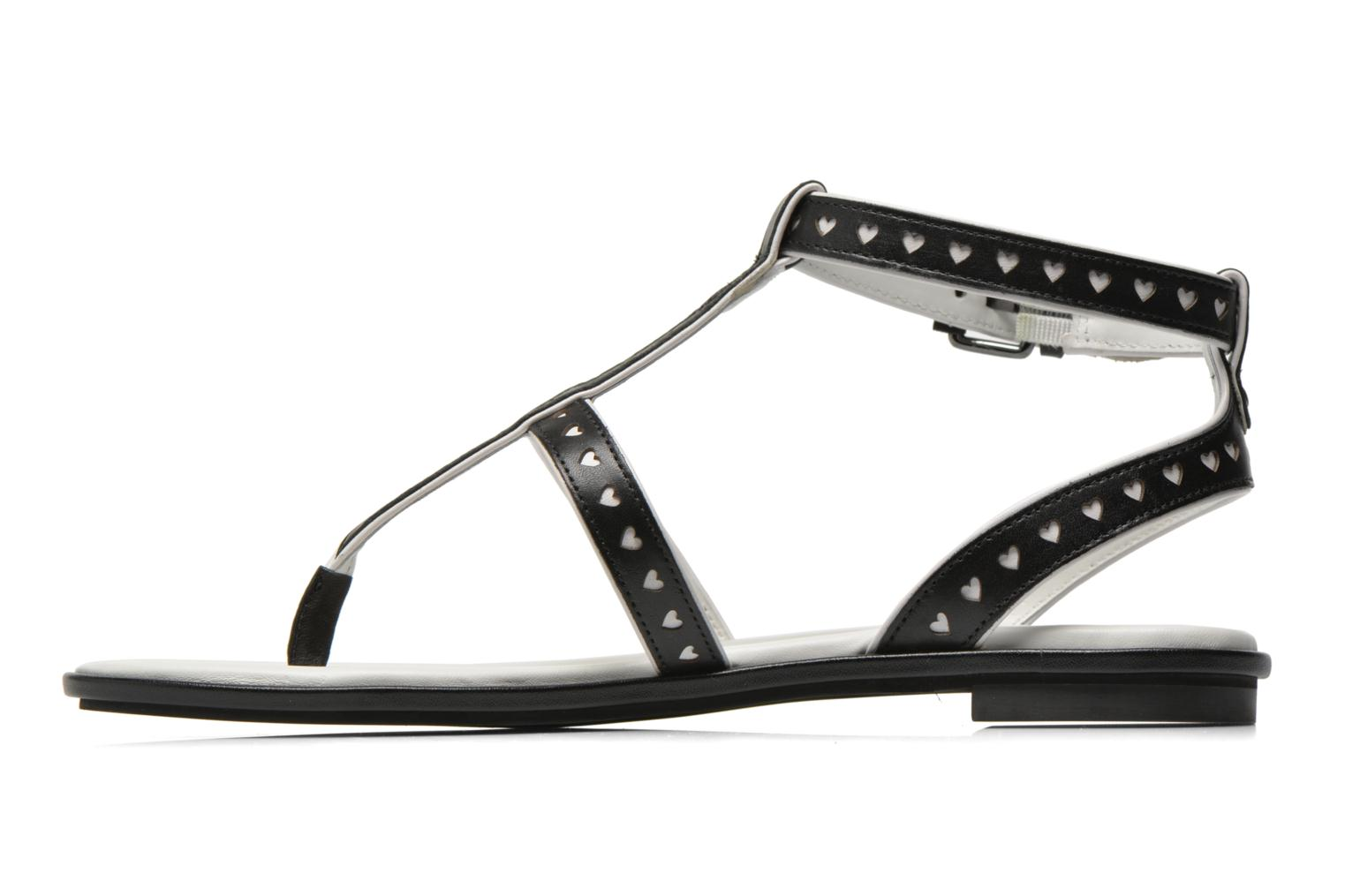Sandals What For Tale Black front view