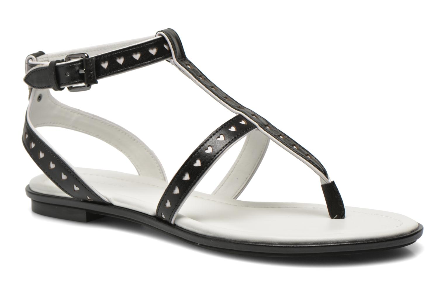 Sandals What For Tale Black detailed view/ Pair view