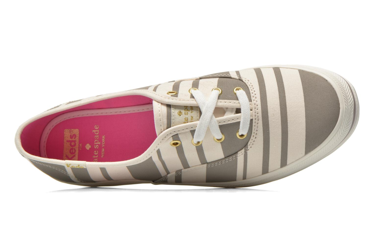 Sneakers Keds Triple Fairemont Stripe Grigio immagine sinistra