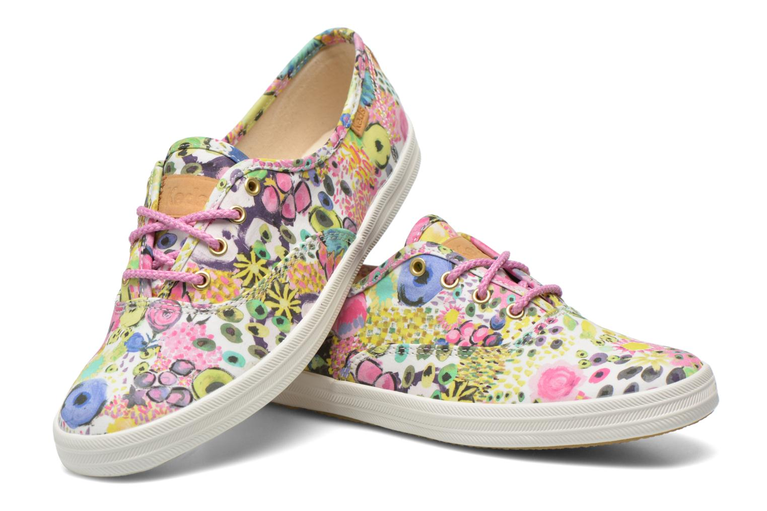Trainers Keds Ch Liberty Floral Multicolor 3/4 view