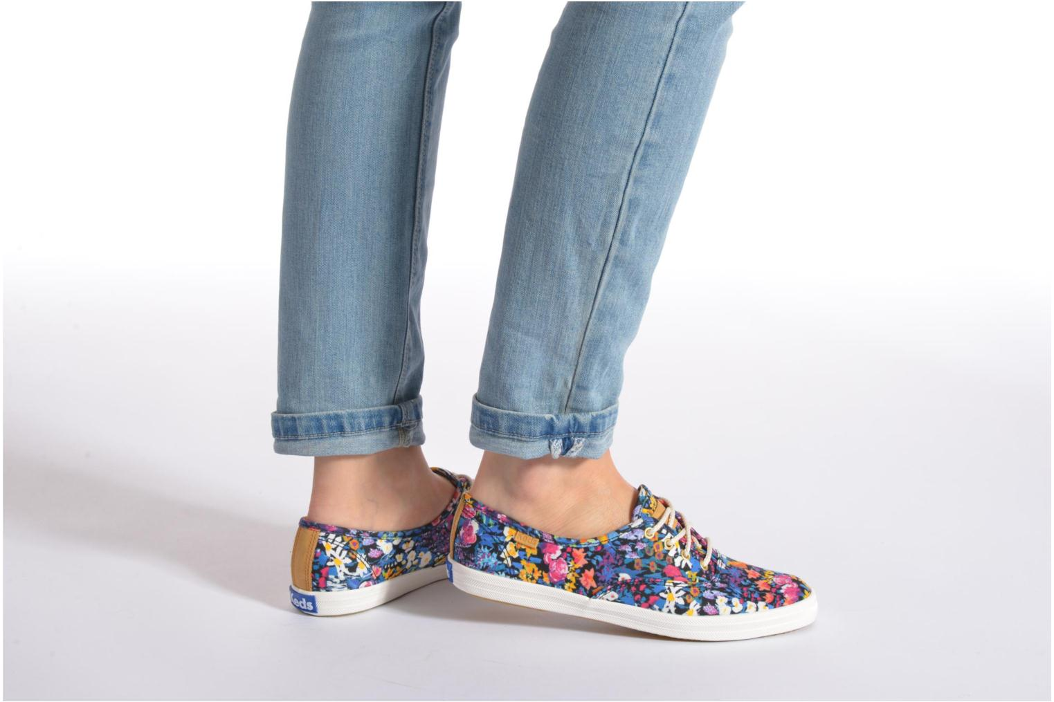 Trainers Keds Ch Liberty Floral Multicolor view from underneath / model view