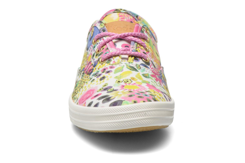 Baskets Keds Ch Liberty Floral Multicolore vue portées chaussures