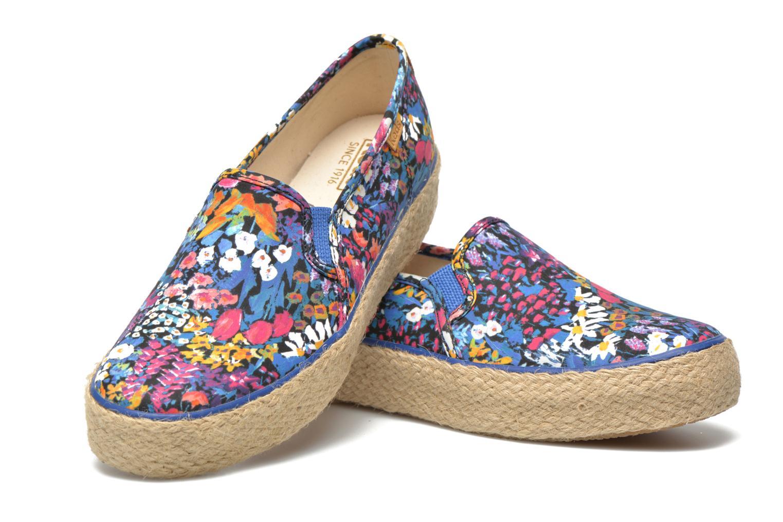 Sneakers Keds Triple Decker Liberty Floral Multicolore immagine 3/4