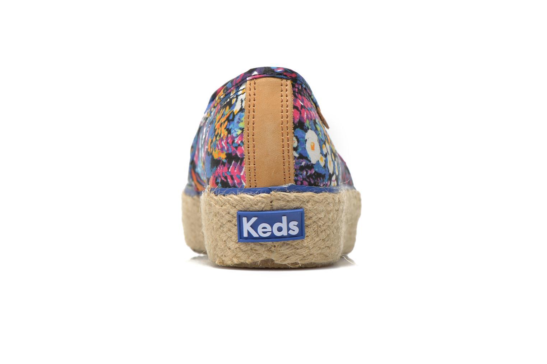 Baskets Keds Triple Decker Liberty Floral Multicolore vue droite