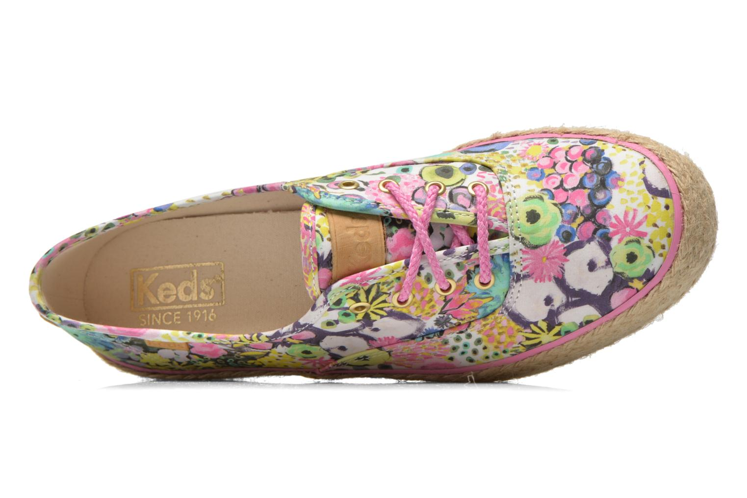 Trainers Keds Triple Liberty Floral Multicolor view from the left