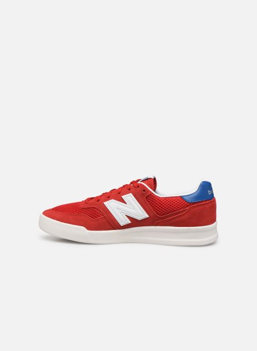 Baskets New Balance CRT300 Rouge vue face