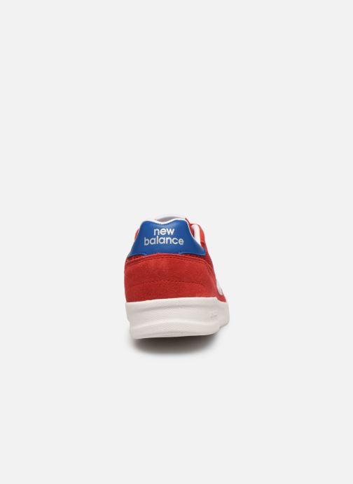 Baskets New Balance CRT300 Rouge vue droite